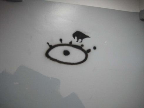 buenos-aires-university-graffiti-enigma-hieroglyph-crow-with-eye